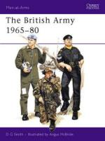 25967 - Smith-McBride, D.-A. - Men-at-Arms 071: British Army 1965-80