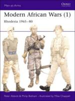 24932 - Abbott-Chappell, P.-M. - Men-at-Arms 183: Modern African Wars (1) Rhodesia 1965-80
