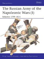 20103 - Haythornthwaite-Hannon, P.-P. - Men-at-Arms 185: Russian Army of the Napoleonic Wars (1) Infantry 1799-1814