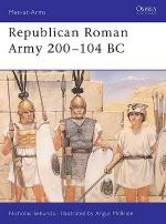19959 - Sekunda-McBride, N.-A. - Men-at-Arms 291: Republican Roman Army 200-104 BC
