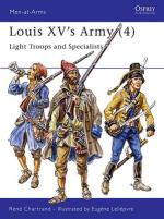 18566 - Chartrand-Leliepvre, R.-E. - Men-at-Arms 308: Louis XV's Army (4) Light Troops and Specialists