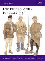 17262 - Sumner-Chappell, I.-M. - Men-at-Arms 315: French Army 1939-45 (1)
