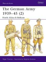 17395 - Thomas-Andrew, N.-S. - Men-at-Arms 316: German Army 1939-45 (2) North Africa and Balkans