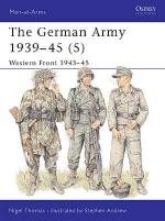 17398 - Thomas-Andrew, N.-S. - Men-at-Arms 336: German Army 1939-45 (5) Western Front 1943-45