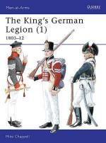 18340 - Chappell, M. - Men-at-Arms 338: King's German Legion (1) 1803-1812