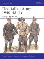 18211 - Jowett-Andrew, P.-S. - Men-at-Arms 340: Italian Army 1940-45 (1) Europe 1940-43