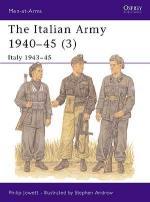 18213 - Jowett-Andrew, P.-S. - Men-at-Arms 353: Italian Army 1940-45 (3) Italy 1943-45