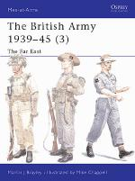 23806 - Brayley-Chappell, M.J.-M. - Men-at-Arms 375: British Army 1939-45 (3) The Far East