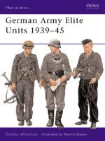 23853 - Williamson-Bujeiro, G.-R. - Men-at-Arms 380: German Army Elite Units 1939-45