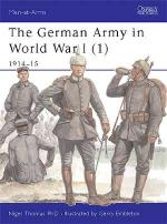 25929 - Thomas-Embleton, N.-G. - Men-at-Arms 394: German Army in World War I (1)