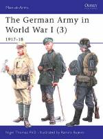 29924 - Thomas-Bujeiro, N.-R. - Men-at-Arms 419: German Army in World War I (3) 1917-18