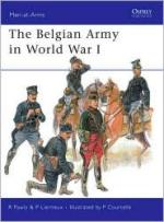 40751 - Pawly-Lierneux-Courcelle, R.-P.-P. - Men-at-Arms 452: Belgian Army in World War I
