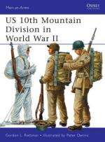 52385 - Rottman-Dennis, G.L.-P. - Men-at-Arms 482: US 10th Mountain Division in World War II