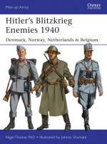 55462 - Thomas-Shumate, N.-J. - Men-at-Arms 493: Hitler's Blitzkrieg Enemies 1940 Denmark, Norway, Netherlands and Belgium