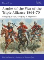 57382 - Esposito-Rava, G.-G. - Men-at-Arms 499: Armies of the War of the Triple Alliance 1864-70