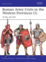 58711 - D'Amato-Ruggeri, R.-R. - Men-at-Arms 506: Roman Army Units in the Western Provinces (1) 31 BC-AD 195