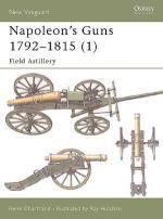 25450 - Chartrand-Hutchins, R.-R. - New Vanguard 066: Napoleon's Guns 1792-1815 (1) Field Artillery