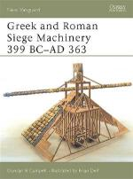 25789 - Campbell-Delf, D.-B. - New Vanguard 078: Greek and Roman Siege Machinery 399 BC-AD 363