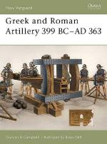 26745 - Campbell-Delf, D.-B. - New Vanguard 089: Greek and Roman Artillery 399 BC-AD 363