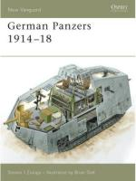 34781 - Zaloga, S.J. - New Vanguard 127: German Panzers 1914-18