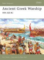35945 - Fields-Bull, N.-P. - New Vanguard 132: Ancient Greek Warship 500-322 BC