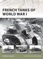 46487 - Zaloga-Bryan, S.J.-T. - New Vanguard 173: French Tanks of World War I
