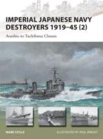 54582 - Stille-Wright, M.-P. - New Vanguard 202: Imperial Japanese Navy Destroyers 1919-45 (2) Asashio to Tachibana Classes