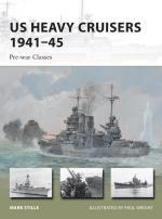 55471 - Stille-Wright, M.-P. - New Vanguard 210: US Heavy Cruisers 1941-45. Pre-war Classes
