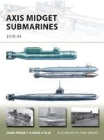 55473 - Prenatt-Stille, J.-M. - New Vanguard 212: Axis Midget Submarines 1939-45