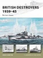 61806 - Konstam, A. - New Vanguard 246: British Destroyers 1939-45. Pre-war classes
