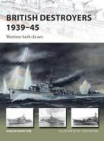 62831 - Konstam-Bryan, A.-T. - New Vanguard 253: British Destroyers 1939-45. Wartime-built classes
