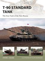 64065 - Zaloga, S.J. - New Vanguard 255: T-90 Standard Tank. The First Tank of the New Russia