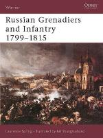 22599 - Spring-Younghusband, L.-B. - Warrior 051: Russian Grenadiers and Infantry 1799-1815