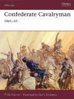 22526 - Katcher-Embleton, P.-G. - Warrior 054: Confederate Cavalryman 1861-1865