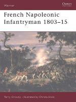 23972 - Crowdy-Hook, T.-C. - Warrior 057: French Napoleonic Infantryman 1803-1815