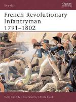 25697 - Crowdy-Hook, T.-C. - Warrior 063: French Revolutionary Infantryman 1791-1802