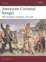 29933 - Zaboly, G. - Warrior 085: American Colonial Ranger. The Northern Colonies 1724-64