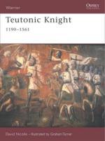 37180 - Nicolle-Turner, D.-G. - Warrior 124: Teutonic Knight 1190-1561