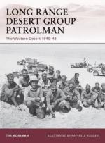 45811 - Moreman-Ruggeri, T.-R. - Warrior 148: Long Range Desert Group Patrolman. Western Desert 1940-43